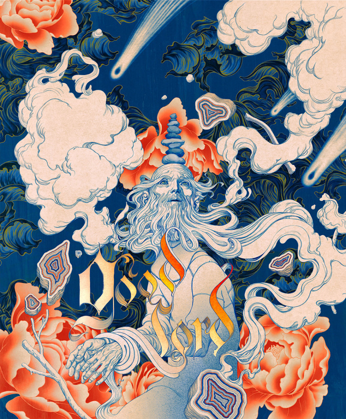 james jean illustration Good Lord Digital, Dimensions Variable, 2016.