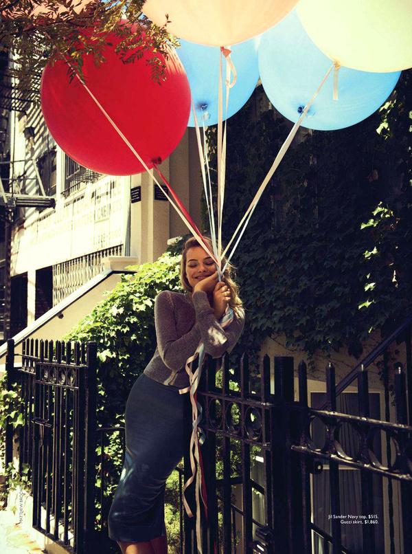 Margot Robbie by Matthew Brookes #photography