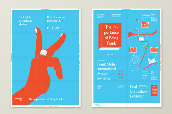 Graduation Exhibition 2011 Andries Reitsma – Graphic & Interaction Design #poster