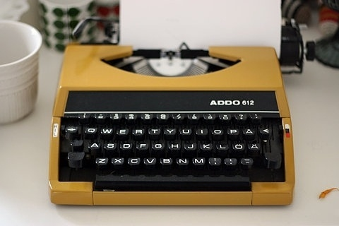 FFFFOUND! #design #color #yellow #industrial #vintage #typewriter