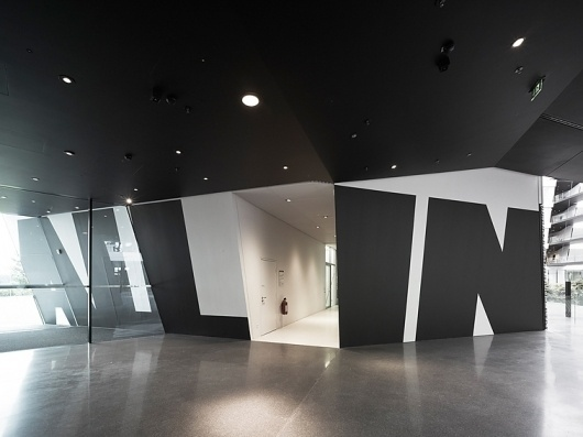 Adidas Laces 2011   Büro Uebele   typetoken® #interior #design #architecture #signage #typography