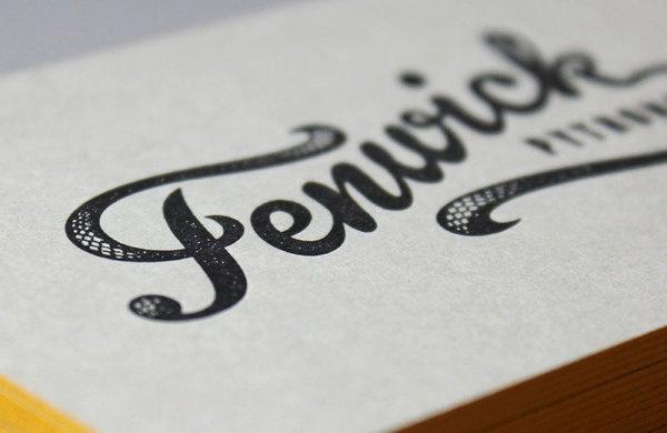 Fenwick Pythons branding #identity #branding #typography