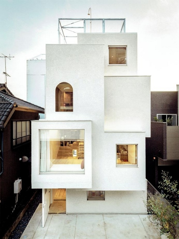 Tokyo City House / Id Fr Architecture