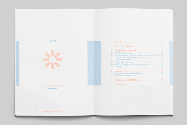 MagSpreads Editorial Design and Magazine Layout Inspiration: The Solar Annual Report #infographics