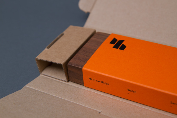 Spin — Matthew Hilton Watch #packaging #watch