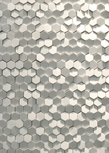 Phenomenon: Tokujin Yoshioka's Tile System for Mutina - Core77 #tiles #wall
