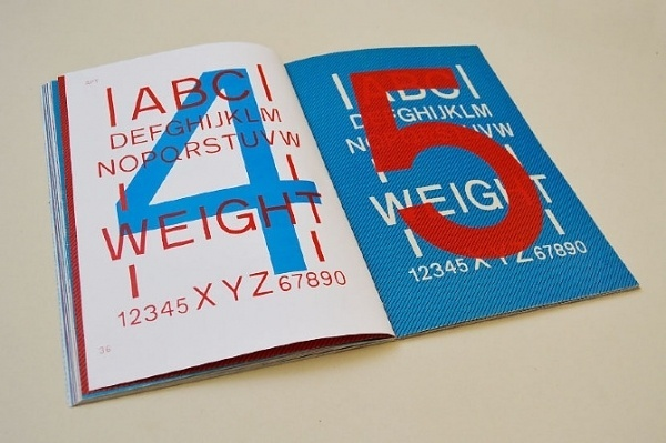 Specimen Book - Apt #specimen #design #graphic #type #typography