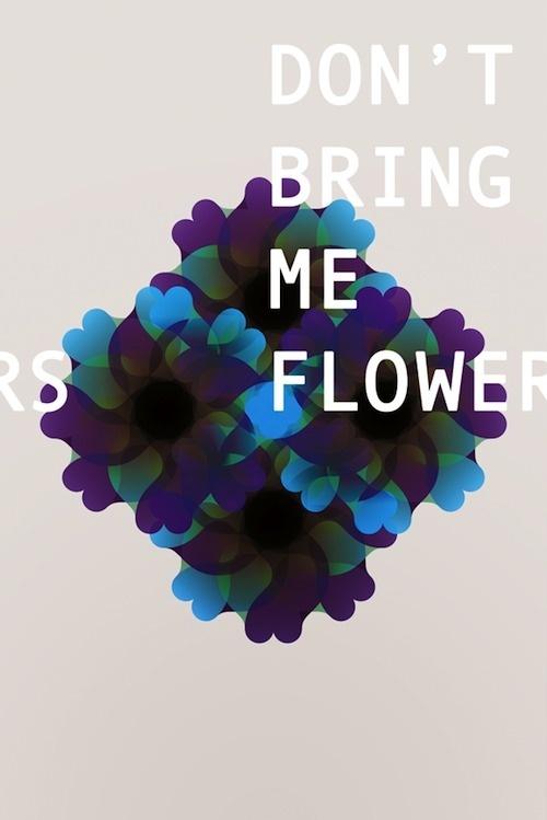 Riccardo Casinelli Graphic Design #manifesto #geometry #overlap #design #poster #flowers #typography