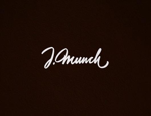 FROMTHESKA: the personal portfolio by SERGEY SHAPIRO #calligraphy #lettering #munch #written #custom #logo #hand #typography