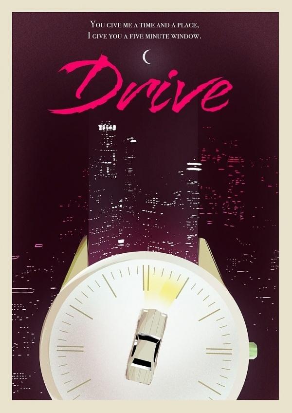 DRIVE (VARIANT) - Rocco Malatesta Posters & Prints #movie #malatesta #rocco #drive #poster