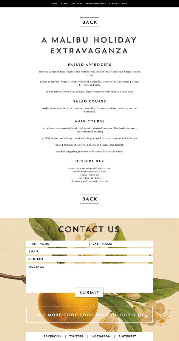 Whoa Nelly Catering Branding & Website on Behance #web #food