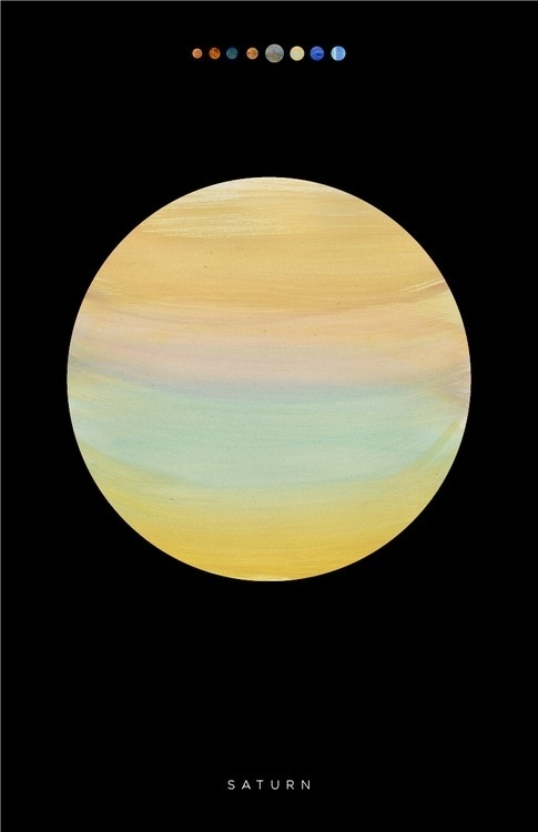 lindsey #saturn #texture #space #paint #poster #outer #planet