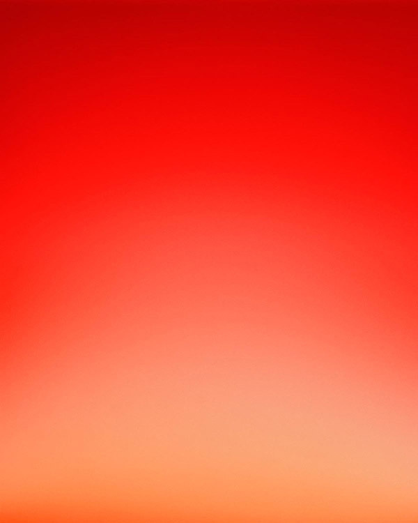 Sky Series by Eric Cahan #organge #red #gradient #sky