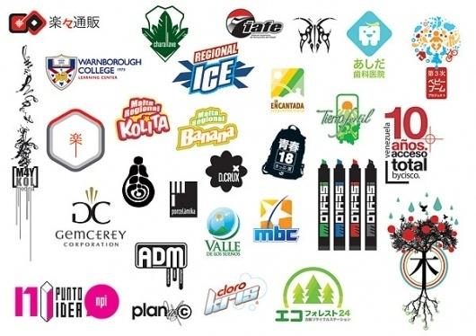 Hecho en Venezuela y Japón on the Behance Network #logos #marks #corporative #graphic #colors #identity #logo #deisgn