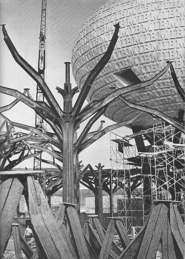 All sizes | IBM Structure 1964 New York World's Fair | Flickr - Photo Sharing! #new #saarinen #worlds #structure #fair #ibm #york #1964 #eero #charles #eames