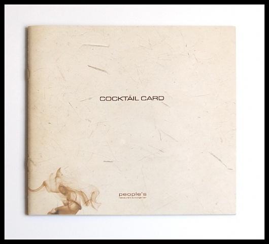 Graphic Design & Web Design Blog #menu #cocktail