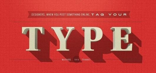 Typography Mania #126 | Abduzeedo | Graphic Design Inspiration and Photoshop Tutorials