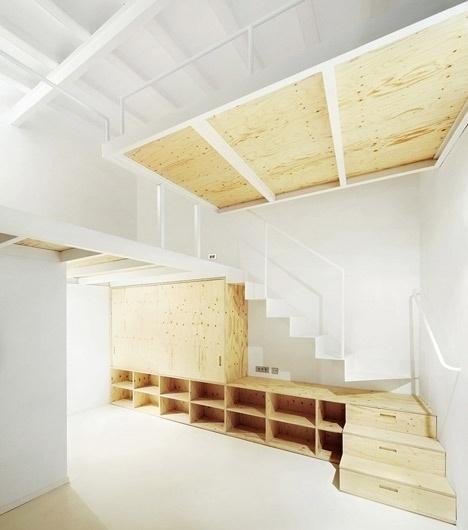 Dezeen » Blog Archive » Apartment in El Born by Arquitectura-G
