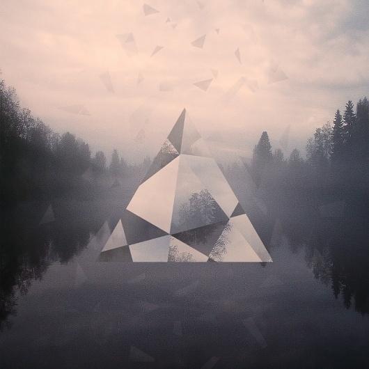 Victor Eide #print #photography #victor eide #triangulum #triangel
