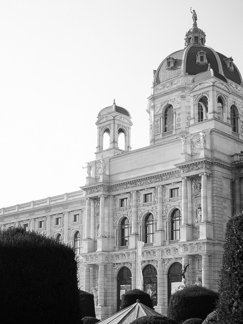 CJWHO ™ (Museum of Art History, Vienna by Christoph...) #history #white #museum #of #design #vienna #black #architecture #art #and