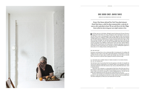 Kinfolk magazine #text #clean #simple #graphics #layout #editorial #typography
