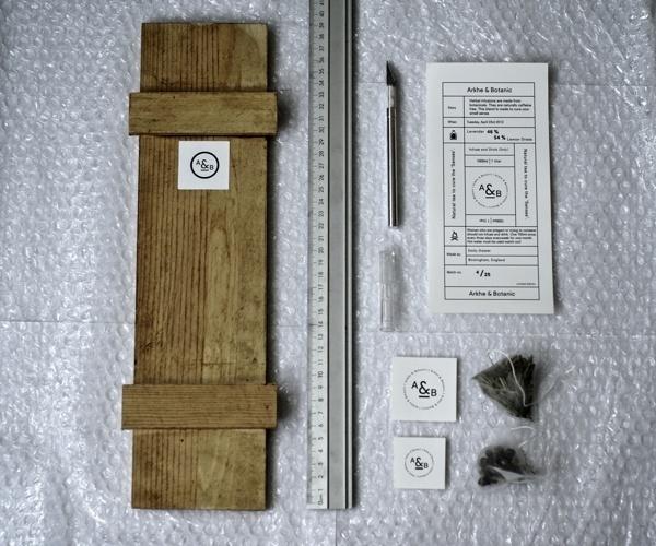 ARKHE & BOTANIC #logos #branding #packaging #design #wood #posters #tea #graphics