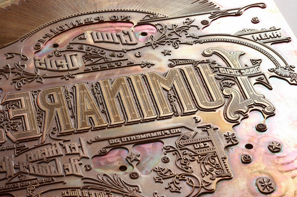 Graphic ExchanGE a selection of graphic projects #type #letterpress