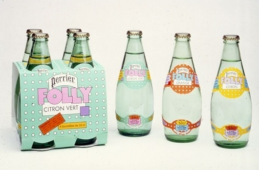 Container List: Seymour Chwast #seymour #chwast #packaging #70s #perrier #folly