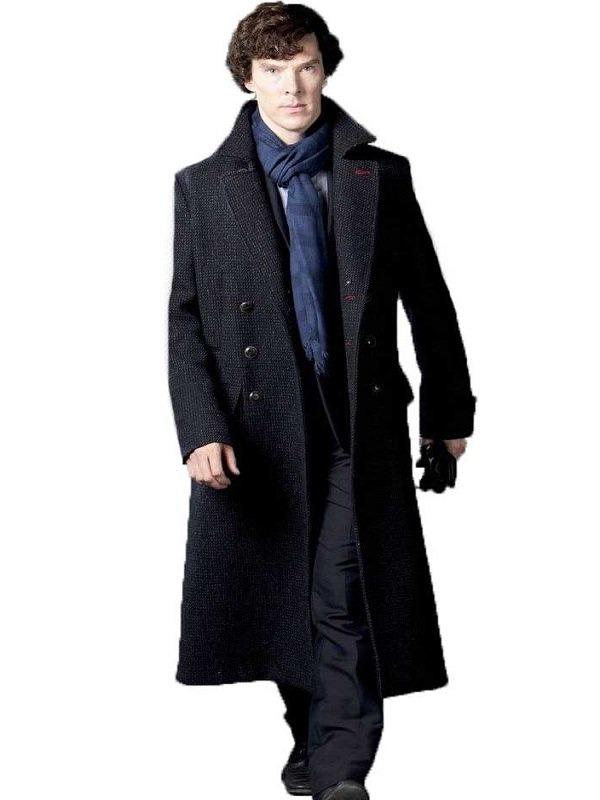 Mystery Drama Sherlock Holmes Benedict Cumberbatch Coat