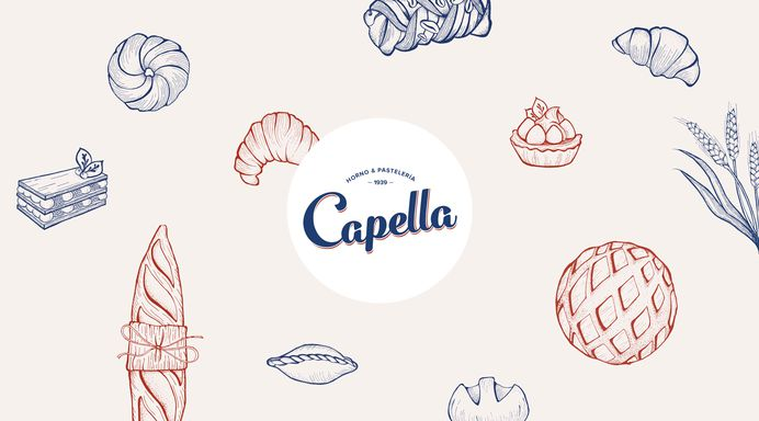 Bakery logotyp design made by gelpi