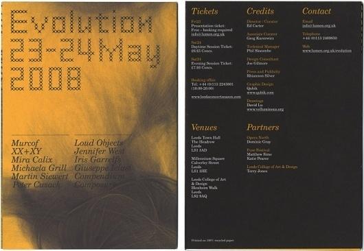 Qubik Design +44 (0)113 226 0839 #poster
