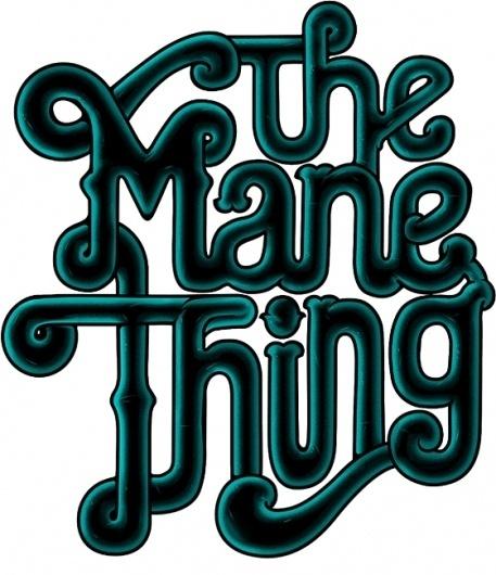 The Mane Thing #logo #band #branding #typography