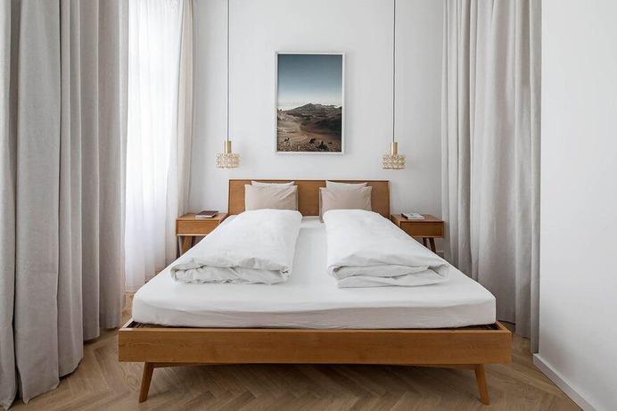 bedroom Vienna / Destilat Architecture + Design