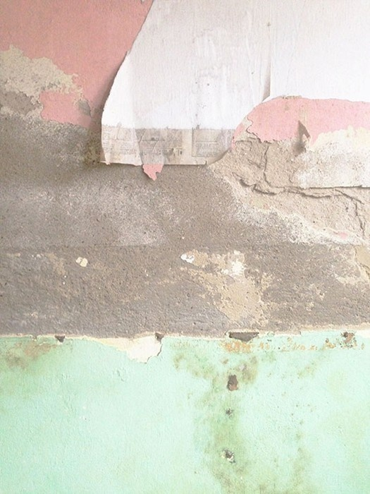 Courtesy of Soviet Innerness #paint #wall #peel #color