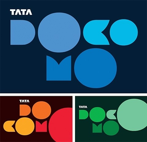FFFFOUND! | New India Cellular Provider Goes Geometric - Brand New #awesome #typography