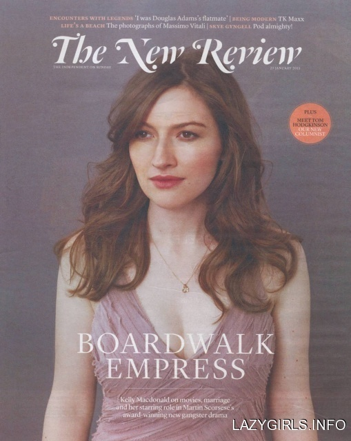 Kelly Macdonald Kelly Macdonald The Independent Sunday The New Review Magazine January #cover #mag