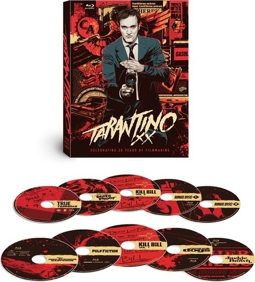 Graphic design inspiration #design #illustration #tarantino #movies #package