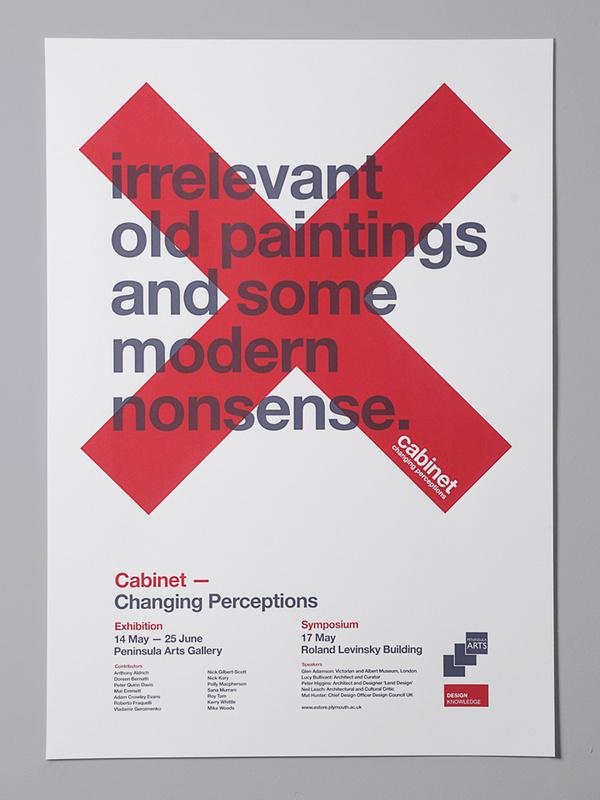 Cabinet on Behance >> Buddy Creative #red #branding #cross #copy #typography