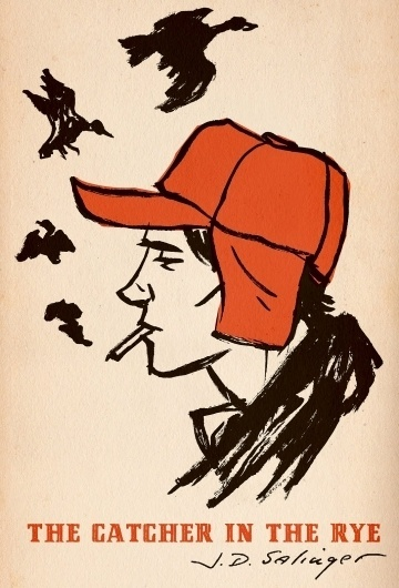 catcher.jpg 1089×1600 pixels #cather #in #rye #book #the #cover #illustration
