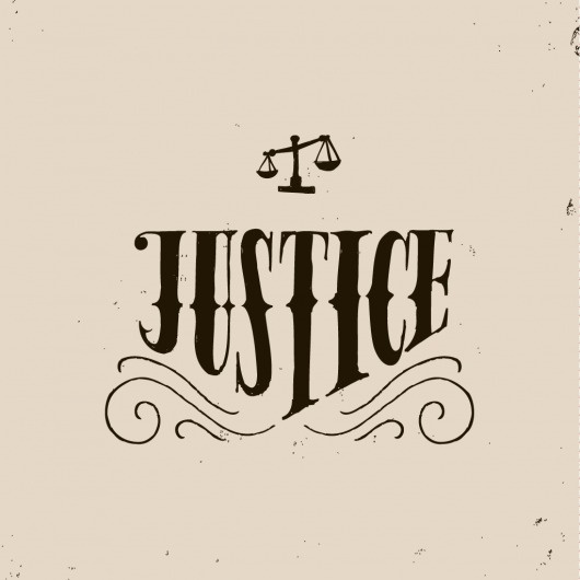 The Phraseology Project - Justice #inspiration #lettering #design #texture #grain #typography