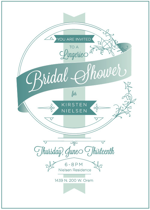 West end girl #west #girl #shower #bridal #invitations #vintage #end