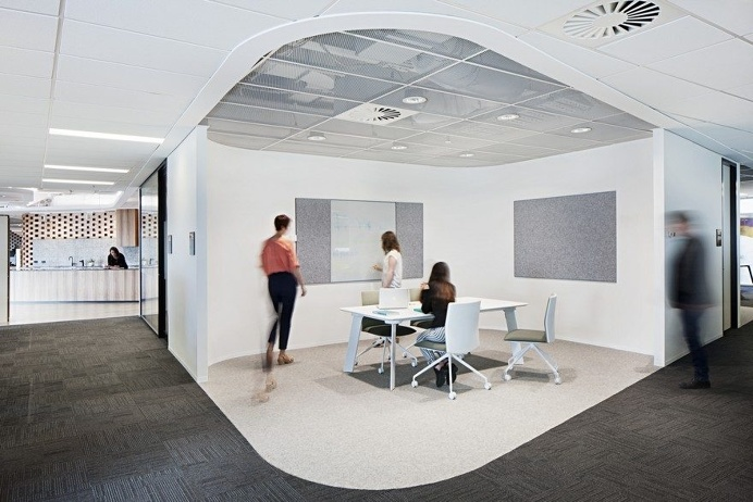 New Contemporary Workspace by Woods Bagot for ADCO in Melbourne 4