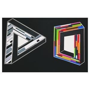 Optical Illusions #optical #white #b&w #illusions #design #black #triangle #colors #and #gouache