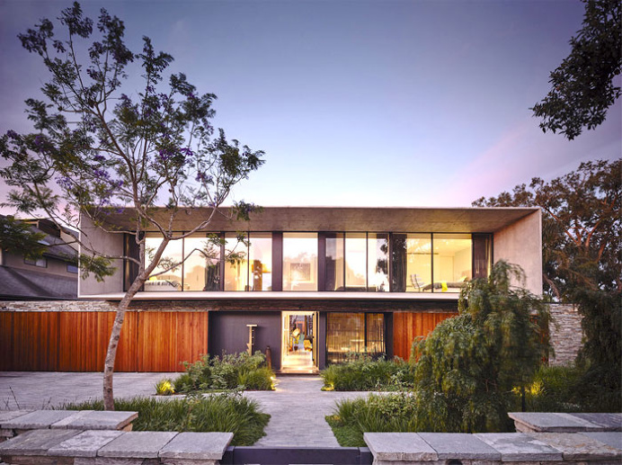 Concrete House by Matt Gibson Architecture - architecture, house, house design, dream home, #architecture