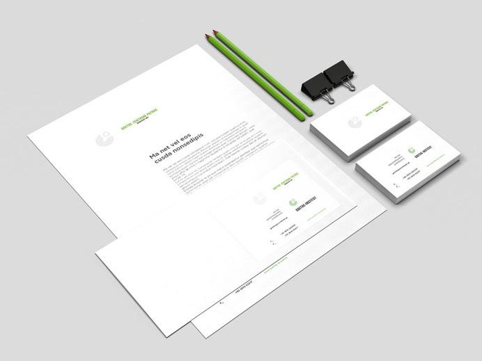 Goethe Zentrum - Patras - grab . the . eye . | design & visual communication #stationery #folder #card #letterhead #institution #goethe zent
