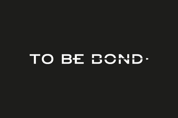 To Be Bond on Behance #logo #logotype #identity