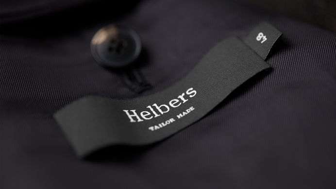 Helbers brand identity Helbers brandng luxury fashion london uk england only design studio mindsparkle mag business card corporate visual de
