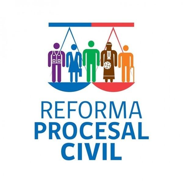 Logotipo Reforma Justicia Civil #reforma #procesal #penal #gobiernodechile #laotramano
