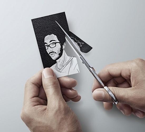 card1.jpg (550×502) #card #diy #scissors #business