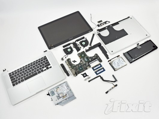 AppleInsider | Teardown of Apple's 15-inch MacBook Pro finds large Thunderbolt chip #apple #design